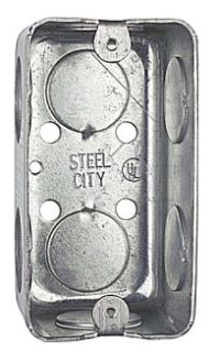 Steel City 58361-3/4 4 x 1-7/8 Steel Utility Box