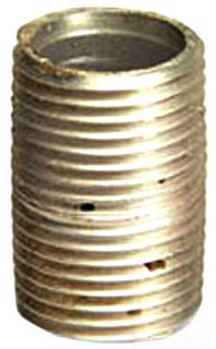 Conduit Couplings, Elbows, & Access 1-1/2X3-ALUM-NIP Nipple