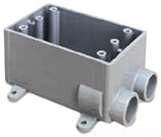 PVC Conduit FSS-3/4 Box Fss Pvc W/Lugs