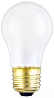 WEST 0450300 15A15/F 130V FROST A15 LAMP
