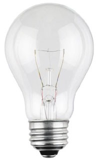 WEST 041100 25A/130/4 25W 130V CLEAR LAMP