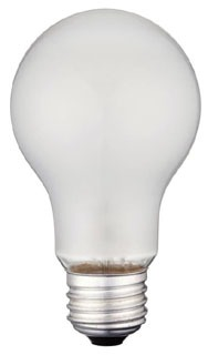 WEST 0410000 25A/F/130/4 25W 130V FROSTED LAMP