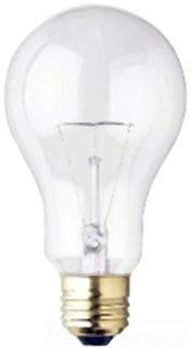 WEST 0454200 150A21/130 150W 130V CLEAR A21 LAMP