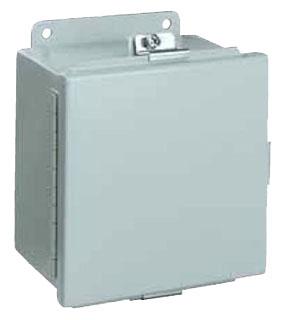 WIEG BN4141206CH N4/JIC HINGED BOX 14x12x6 WATER-TITE BOX(LESS PANEL)