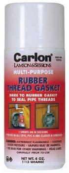 CARLON VC9TS5 SPRAY ON RUBBER THREAD GASKET 4OZ