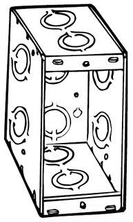 Raco 695 3-1/2D 1G MASONRY BOX