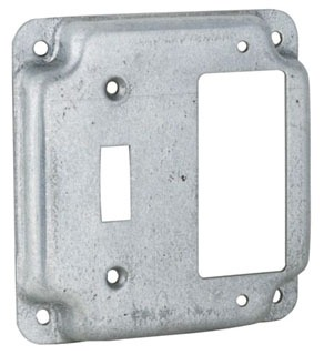 Raco 814C 4IN SQ WORK COVER