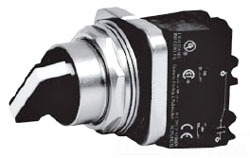 ITE 52SA2AABA1P 2 POSITION SELECTOR SWITCH 1NO 1NC