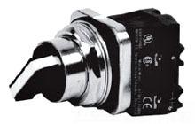 """ITE 52SA2CABA1P 3Pos Selector Switch maintained, 1NO 1NC w/(2)legend plates """"H-O-A"""" & """"F-O-R"""""""