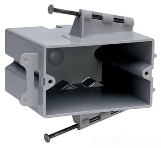 P&S PH1-22-R 1G HORIZONTAL NAIL-ON BOX
