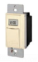 INT ST01A 7DAY Almnd In Wall Timer w/ASTRONOMIC FEATURES SP or 3 Way
