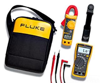 Fluke FLUKE-117/322 6.57 x 3.31 x 1.82 Inch Electrician Multimeter Combination Kit