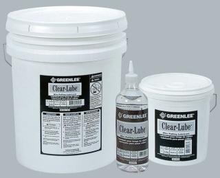 GREENLEE CLRQ 1-QT CLEAR PULL LUBE