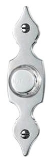 NUTONE PB29LSN Lighted Flat Pushbutton 7/8wx3-9/16h in Satin Nickel