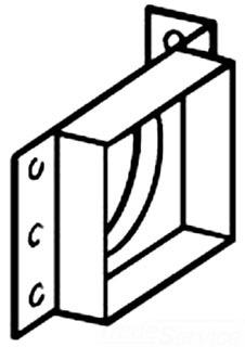 NUTONE CF361 MNTG BKT