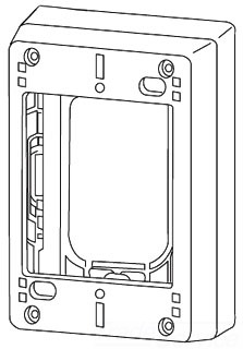 W-MOLD 2348-2 2G DEEP DEVICE BOX