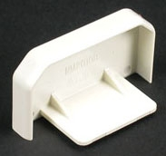 W-MOLD NM2010B BLANK END FOR 2000 NON-METALLIC WIREMOLD IVORY