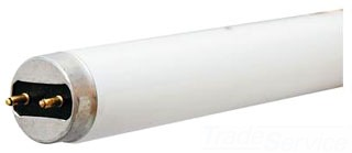 "GE F32T8/SPX41/U/6/ECO 4100K T8 U6 U-Bent Ecolux Lamp 6"" Leg Spacing 32W 2850 Lm 72113"