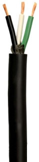 WIRE SJEOOW 12/3 PORTABLE CORD-BLK (55039604) 250ft