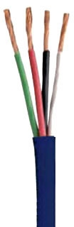 COL 946644501 16/4 WHITE SPEAKER CABLE 500ft BOX 26STR CLEARSIGNAL CABLE