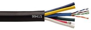 COL 99415-04-08 5-RG59 MINI COAX W/CAT5E CABLE VIDEO CABLE, 250'RL