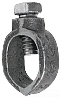 Topaz 411 1/2 in. Direct Burial Grounding Rod Clamp
