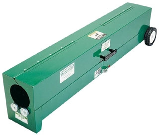 "CURRENT 451 1/2""-4"" PVC Box Heater Bender w/ wheels 2300 WATT, 120V 20amp (fka Greenlee 851)"