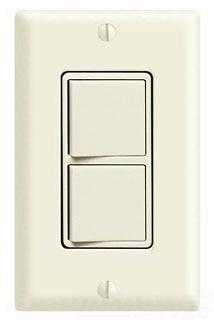 LEV 5641-W DECORA COMBO 3W/SP 15A 120/277V WHITE COMM GRADE