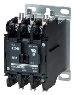 Eaton C25DNJ350T Open NR 3P 50A Dp Cont Box Lugs WVert Qc Term 24VAC Coil