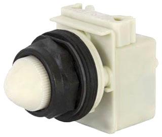 Schneider Electric 9001SKP38LWW31 White Led Pilot Light 120V 30MM TSkp