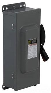 Schneider Electric HU363AWKEI Switch Unfused Hd 100A 3P Interlock