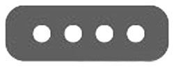 Aero-Motive,580000512,FLAT FESTOON NEOPRENE CABLE