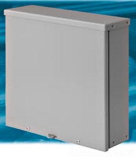 Rittal ERTB-24248 NEMA 3R Galvanized Steel Screw Cover Enclosure