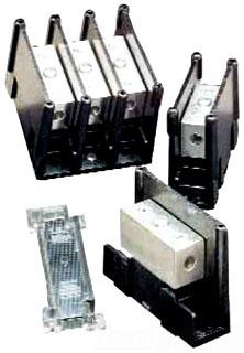Ferraz Shawmut 08530 Polycarbonate Aluminum Power Distribution Block Safety Cover