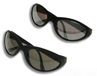 Metallics LLGM1 Silver Mirror Lens Safety Glasses