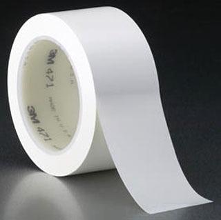 """3M 471-White-2""""x36yd-Box Plastic Film Tape"""