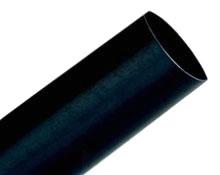 3M FP301-1.5-50'-Black-Spool Thin Wall Shrink Tubing