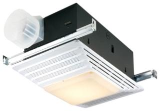 Heater/Fan/Light,Broan,50 CFM,120 V,12 AMP,1440 WTT,2.5 Sones