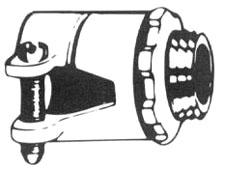Flex Connector, 1 1/4 Inch, Squeeze Type, Steel