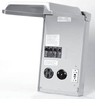 U075CTL010 RV POWER OUTLET