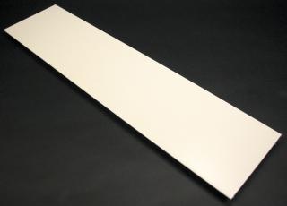 Raceway Cover, 5 Feet X 4 3/4 Inch, Ivory, Steel